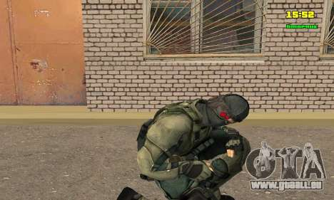 Кестрел Splinter Cell Conviction für GTA San Andreas dritten Screenshot