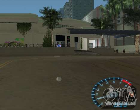 Der Tacho aus NFS Underground für GTA Vice City Screenshot her