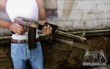 AK47 pour GTA San Andreas troisième écran