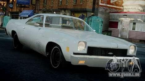 Chevrolet El Camino 1973 Old pour GTA 4