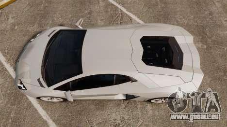 Lamborghini Aventador LP700-4 2012 [EPM] v1.1 pour GTA 4 est un droit