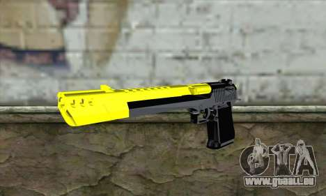 Yellow Desert Eagle für GTA San Andreas