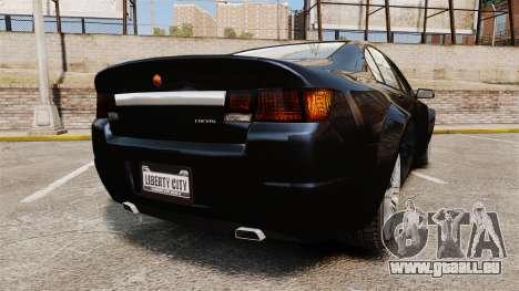 GTA V Cheval Fugitive für GTA 4 hinten links Ansicht