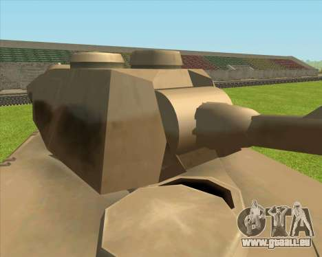 Rhino tp.Elephant - 100.128mm pour GTA San Andreas sur la vue arrière gauche