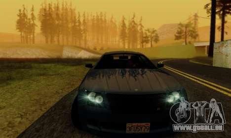 Fusilade GTA V pour GTA San Andreas vue de côté