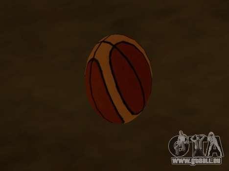 Nouvelles de basket-ball de la société Fondu pour GTA San Andreas deuxième écran