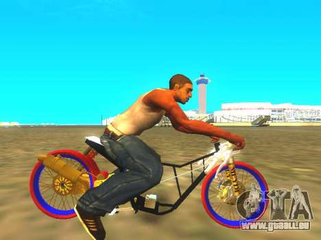 Drag Mio Full GOLD für GTA San Andreas