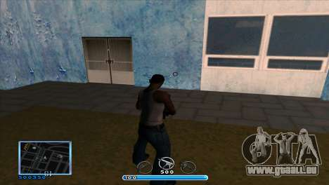 C-HUD by Andr1k pour GTA San Andreas deuxième écran