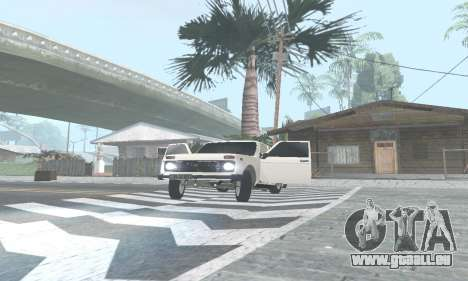 Des VASES de 21214 Avtosh pour GTA San Andreas laissé vue