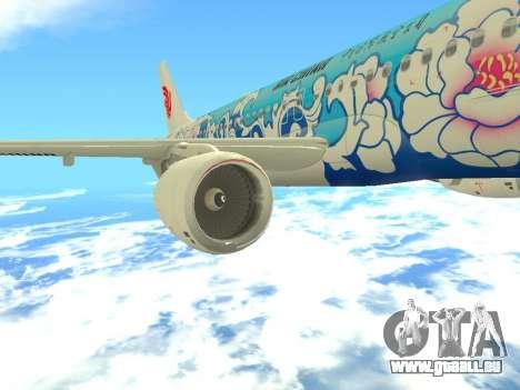 Airbus A320 Air China für GTA San Andreas Innen