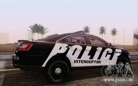 Ford Taurus Police für GTA San Andreas linke Ansicht