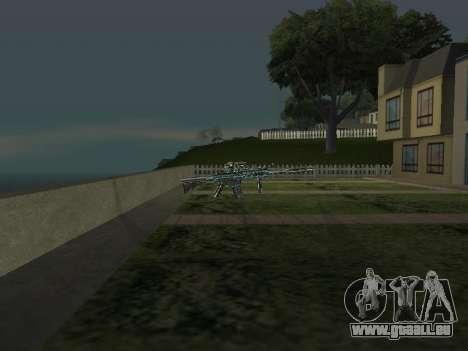 Un Nouveau Pack D'Armes pour GTA San Andreas cinquième écran