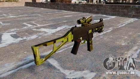 Die Maschinenpistole UMP45 für GTA 4