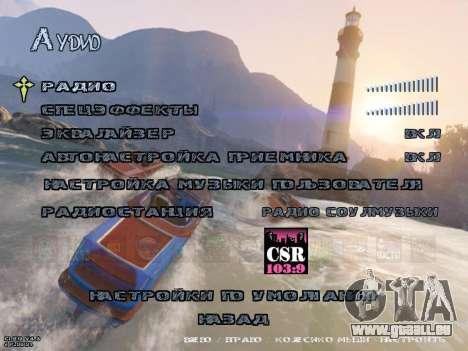 New Menu GTA 5 pour GTA San Andreas sixième écran