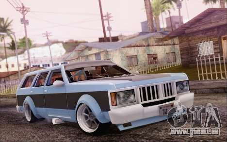 Regina Widebody V8 pour GTA San Andreas