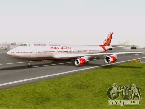 Boeing 747 Air India für GTA San Andreas
