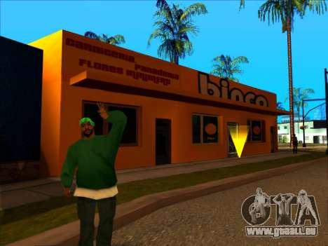 Die neue textur speichern Binco in LS für GTA San Andreas