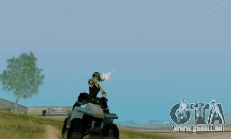 SWAT GIRL für GTA San Andreas her Screenshot