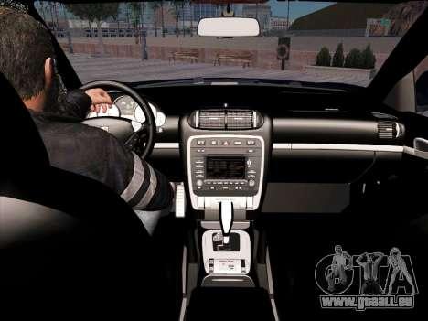 Porsche Cayenne Turbo S 2010 Stock für GTA San Andreas Unteransicht