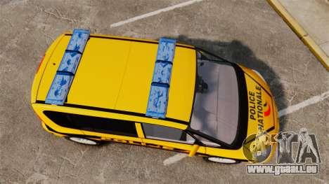 Renault Espace Police Nationale [ELS] für GTA 4 rechte Ansicht