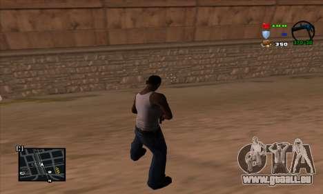 C-HUD Lite pour GTA San Andreas deuxième écran