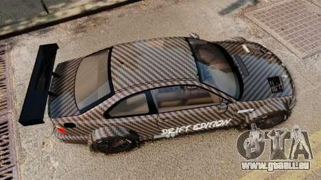 BMW M3 GTR 2012 Drift Edition pour GTA 4 est un droit