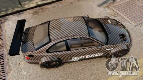 BMW M3 GTR 2012 Drift Edition für GTA 4 rechte Ansicht