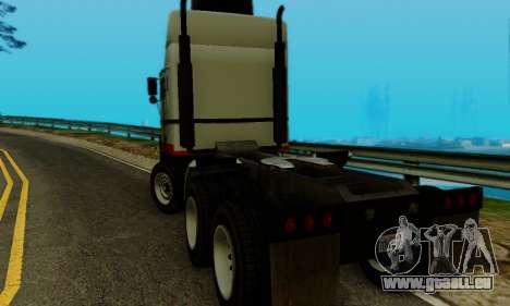 Hauler GTA V pour GTA San Andreas laissé vue