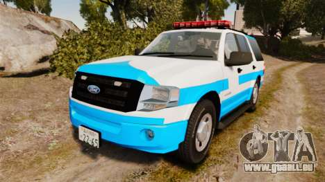 Ford Expedition Japanese Police SSV v2.5F [ELS] pour GTA 4