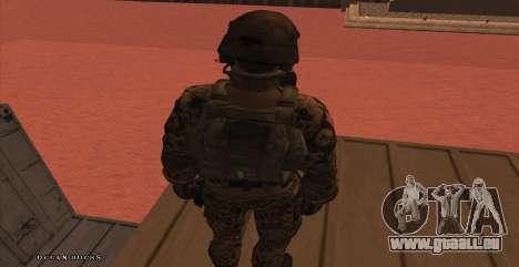 Global Defense Initiative Soldier für GTA San Andreas siebten Screenshot