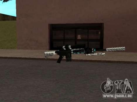 Eine Neue Packung Von Waffen für GTA San Andreas dritten Screenshot