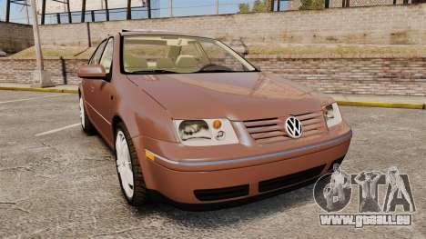 Volkswagen Bora 1.8T Camel pour GTA 4
