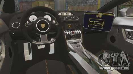 Lamborghini Gallardo Gendarmerie National [ELS] für GTA 4 Seitenansicht