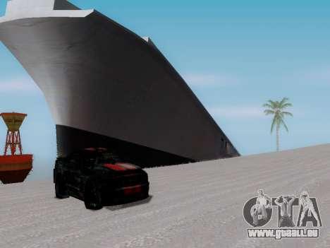 Épave pour GTA San Andreas quatrième écran