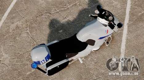 BMW R1150RT Police nationale [ELS] v2.0 für GTA 4 rechte Ansicht
