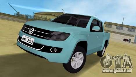 Volkswagen Amarok 2.0 TDi AWD Trendline 2012 pour GTA Vice City