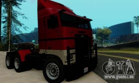 Hauler GTA V pour GTA San Andreas vue de droite