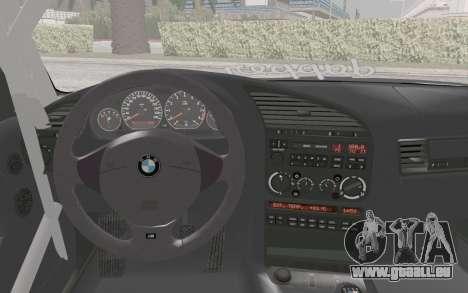 BMW M3 E36 Hellaflush pour GTA San Andreas vue de droite