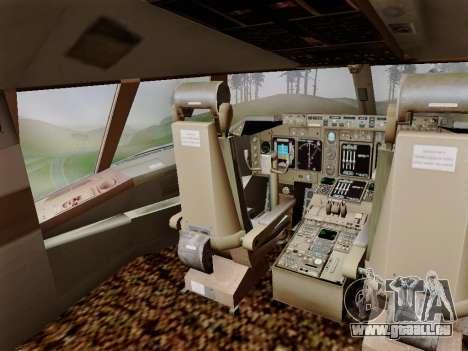 Boeing 747 Air India pour GTA San Andreas vue de côté