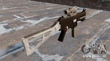 Die Maschinenpistole UMP45 für GTA 4 Sekunden Bildschirm
