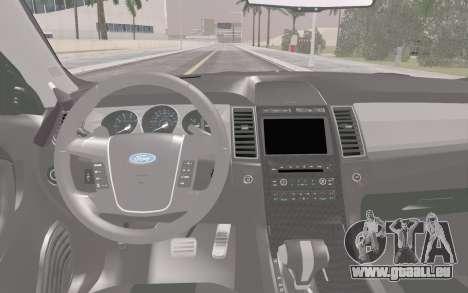 Ford Taurus Police für GTA San Andreas Seitenansicht