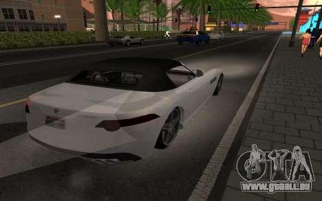 Benefactor Surano GTA V pour GTA San Andreas laissé vue