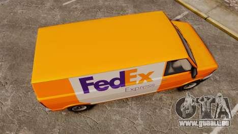 Brute Pony FedEx Express pour GTA 4 est un droit