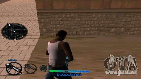 C-HUD Slow pour GTA San Andreas deuxième écran