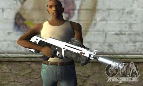 F6 Assault Rifle pour GTA San Andreas troisième écran