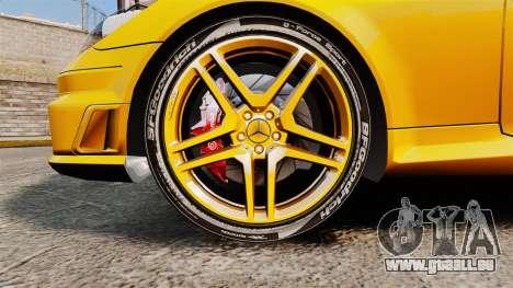 Mercedes-Benz SLK 55 AMG 2014 v1.4 pour GTA 4 Vue arrière