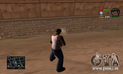 C-HUD Lite für GTA San Andreas her Screenshot