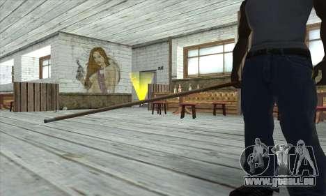 Pool cue pour GTA San Andreas troisième écran
