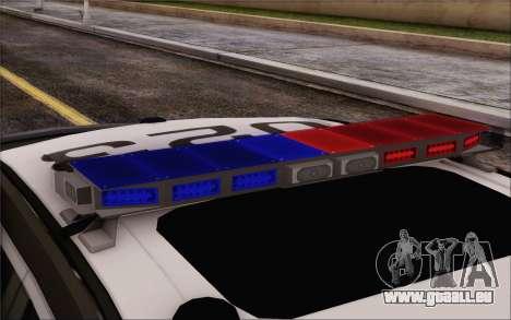 Ford Taurus Police für GTA San Andreas Rückansicht