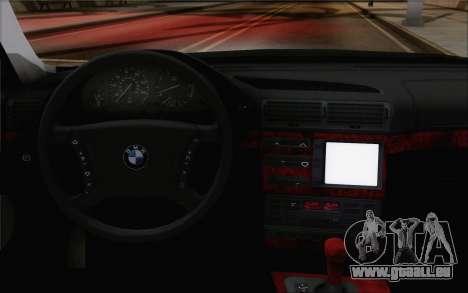 BMW 730d für GTA San Andreas rechten Ansicht
